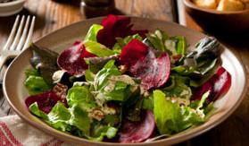 Beet and Arugula Salad with Feta