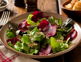 Beet and Arugula Salad with Feta