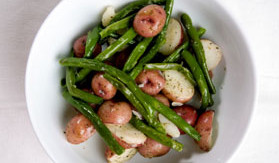 Rustic Red Potatoes and Green Beans