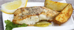 Baked Fish Fillets with Thyme-Dijon Topping
