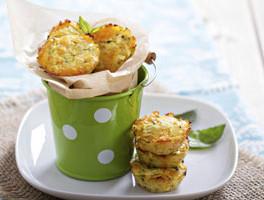 Savory Cauliflower and Cheese Cakes
