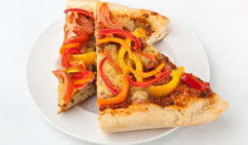 Roasted Pepper Pizza
