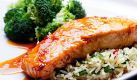 Honey Soy-Glazed Salmon