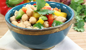 Garbanzo Bean Salad Quick Recipe