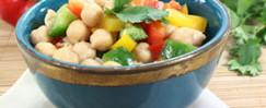 Garbanzo Bean Salad Quick Recipe