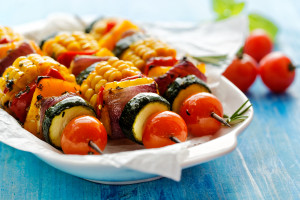 Team Tackle: Citrus-Tarragon Chicken Kabobs