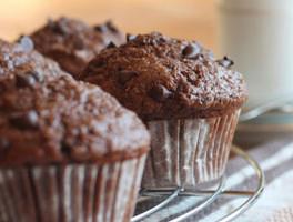 Gluten-Free Chocolate Banana Muffins
