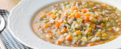 Toasted Barley and Pepper Soup