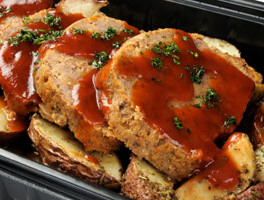 Budget-Friendly Herb Garlic Meatloaf
