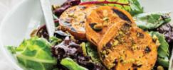 Peppercorn Pistachio Caesar-Style Salad with Chicken
