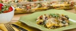 Roasted Vegetable Enchilada Bake