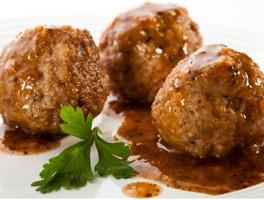 Stuffed Italian Meatloaf Balls