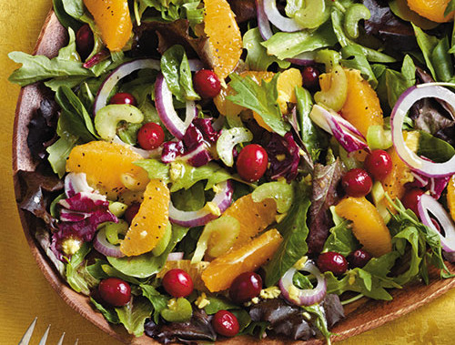 Mixed Greens and Cranberry Salad