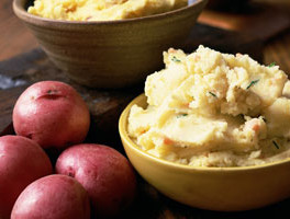 Easy Half-Mashed Potatoes
