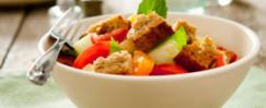 Classic Italian Panzanella Salad