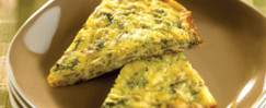 Onion, Shallot and Herb Frittata