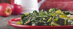 Sautéed Kale with Turkey Bacon