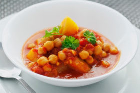 Butternut Squash Stew with Chickpeas