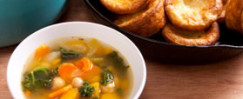 Budget-Friendly Vegetable Stew with Whole Wheat Dumplings