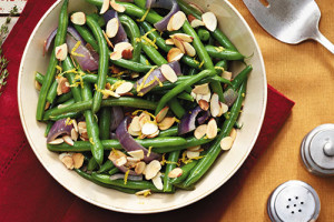 Red Onion Green Beans