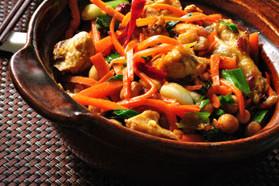 Crock Pot Moo Shu Chicken