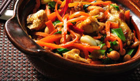 Crock Pot Moo Shu Chicken