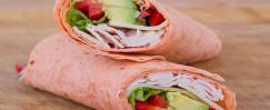Turkey and Avocado Wrap