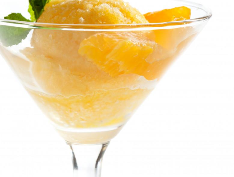 Pineapple Peach Sorbet