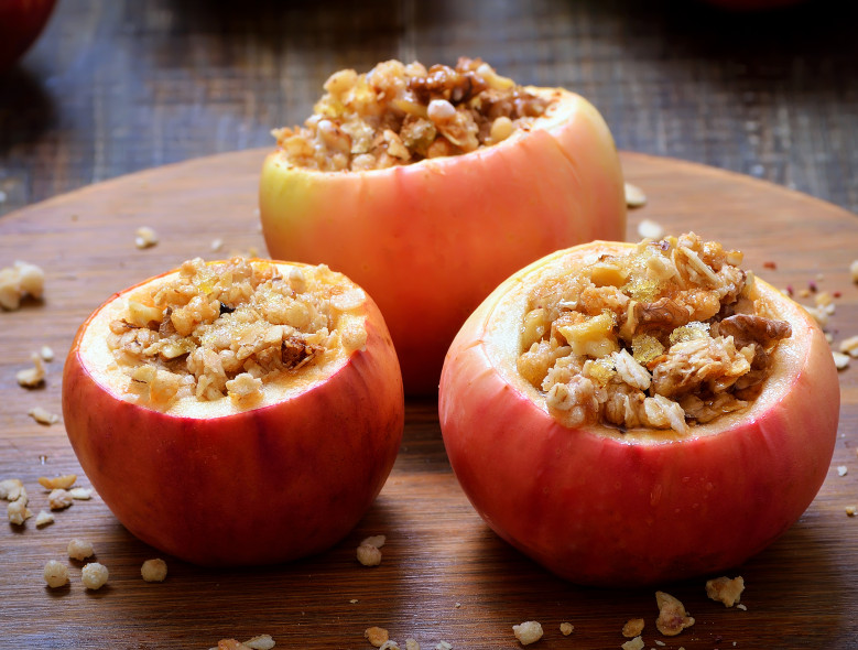 Baked Cinnamon Stuffed Apples