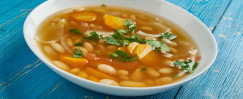Greek Bean and Vegetable Soup (Fassoulada)