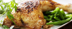 Oven- Barbecued Chicken