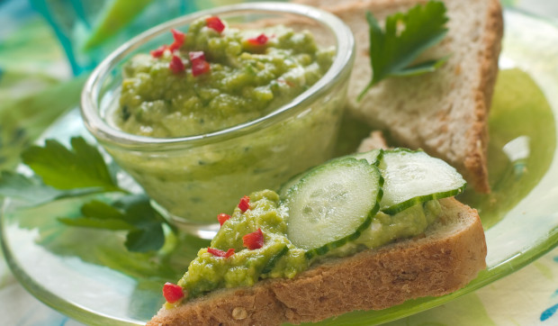 Avocado-Cucumber Dip