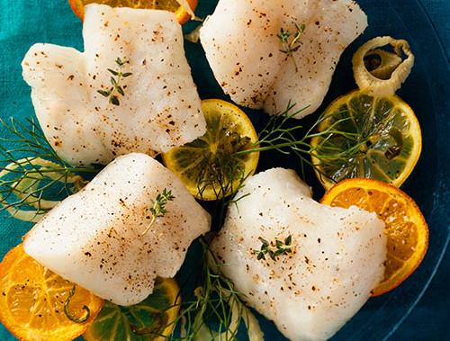 Slow-Roasted Citrus Cod