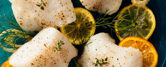Slow-Roasted Citrus Cod