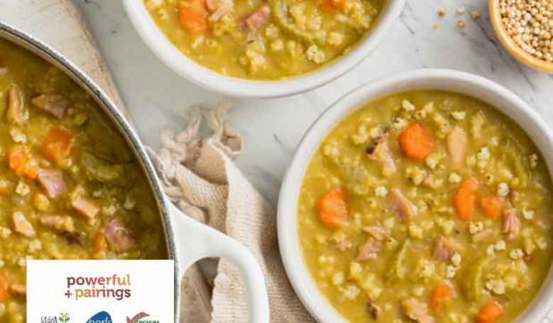 Sorghum Split Pea Soup