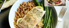 Succulent Salmon With Caramelized Onions
