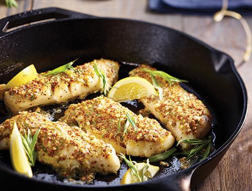 Tarragon-Mustard Cod