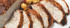 Spiced Turkey Breast With Apple Chutney