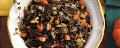 Wild Rice and Cherry Pilaf