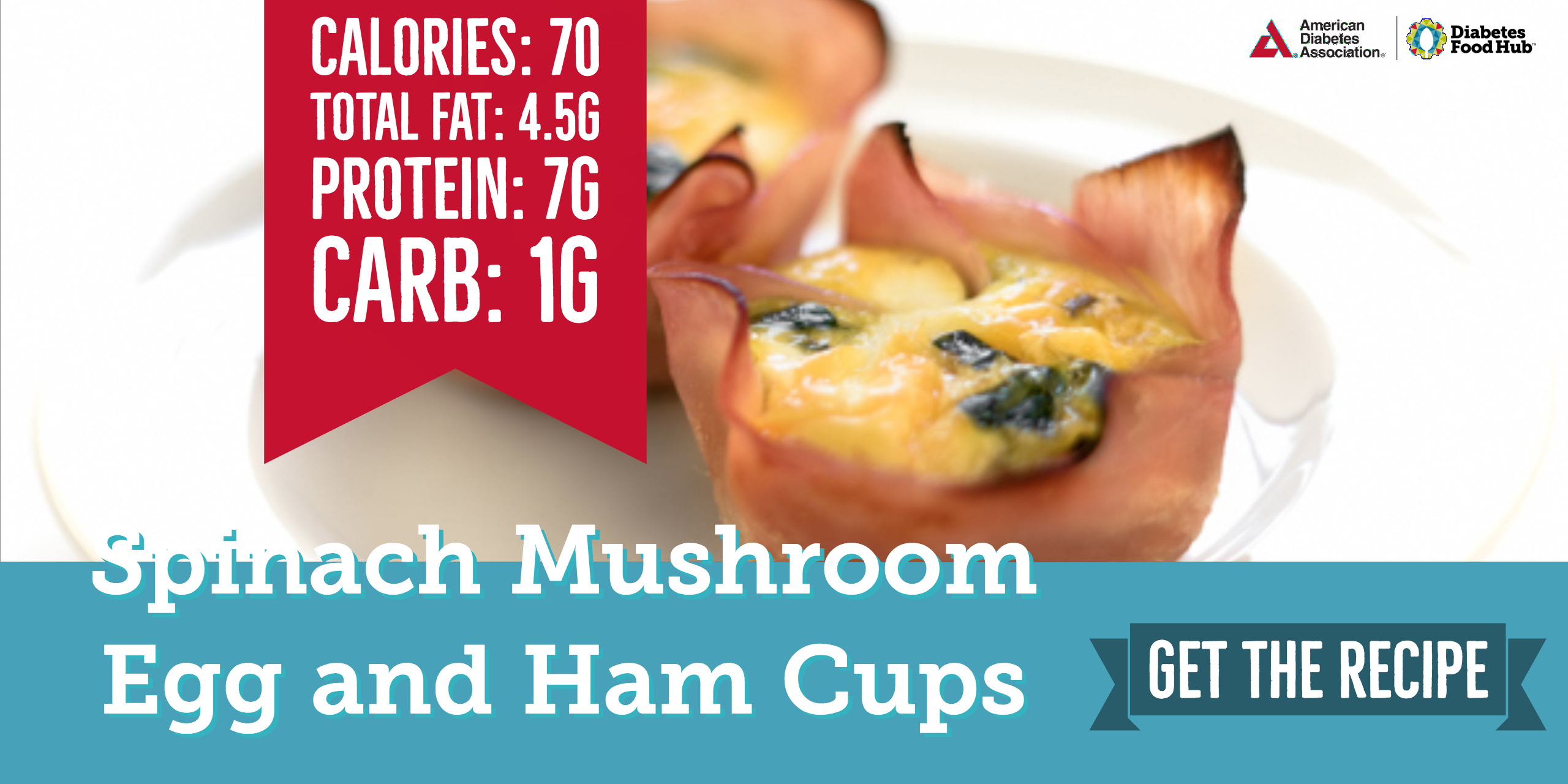 low carb diabetes breakfast ham and egg cups