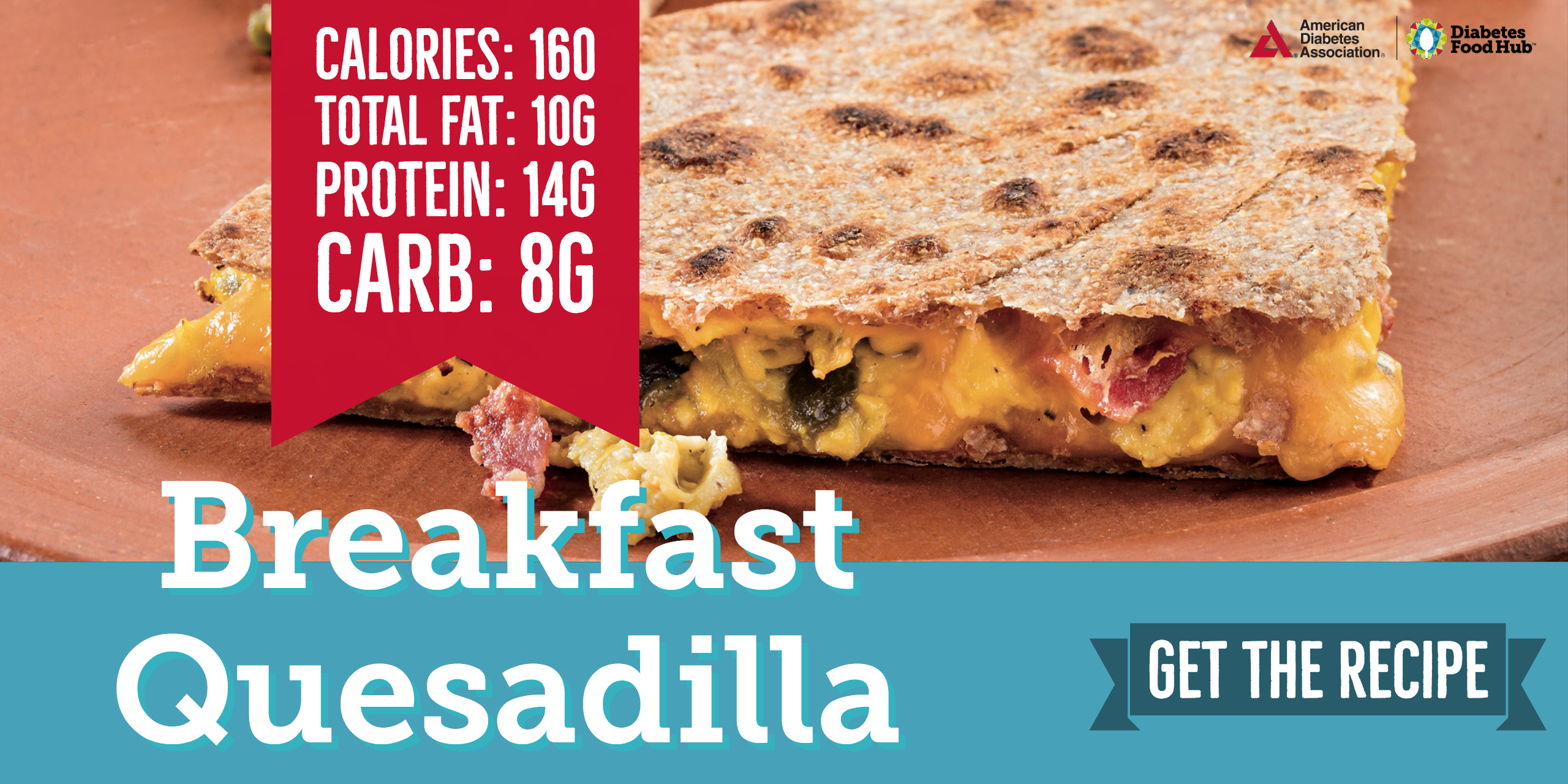 diabetes breakfast quesadilla
