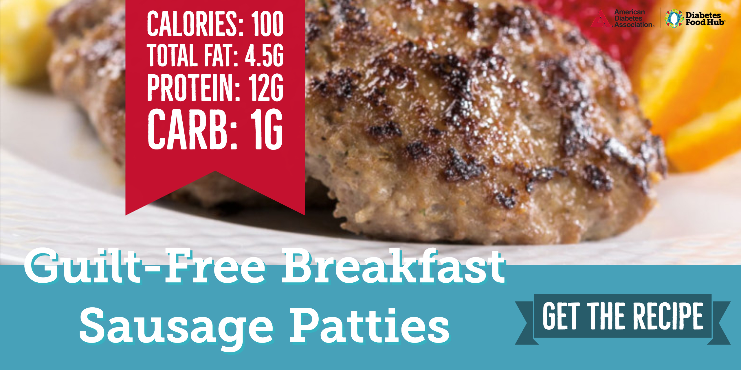 low carb diabetes suasage patties