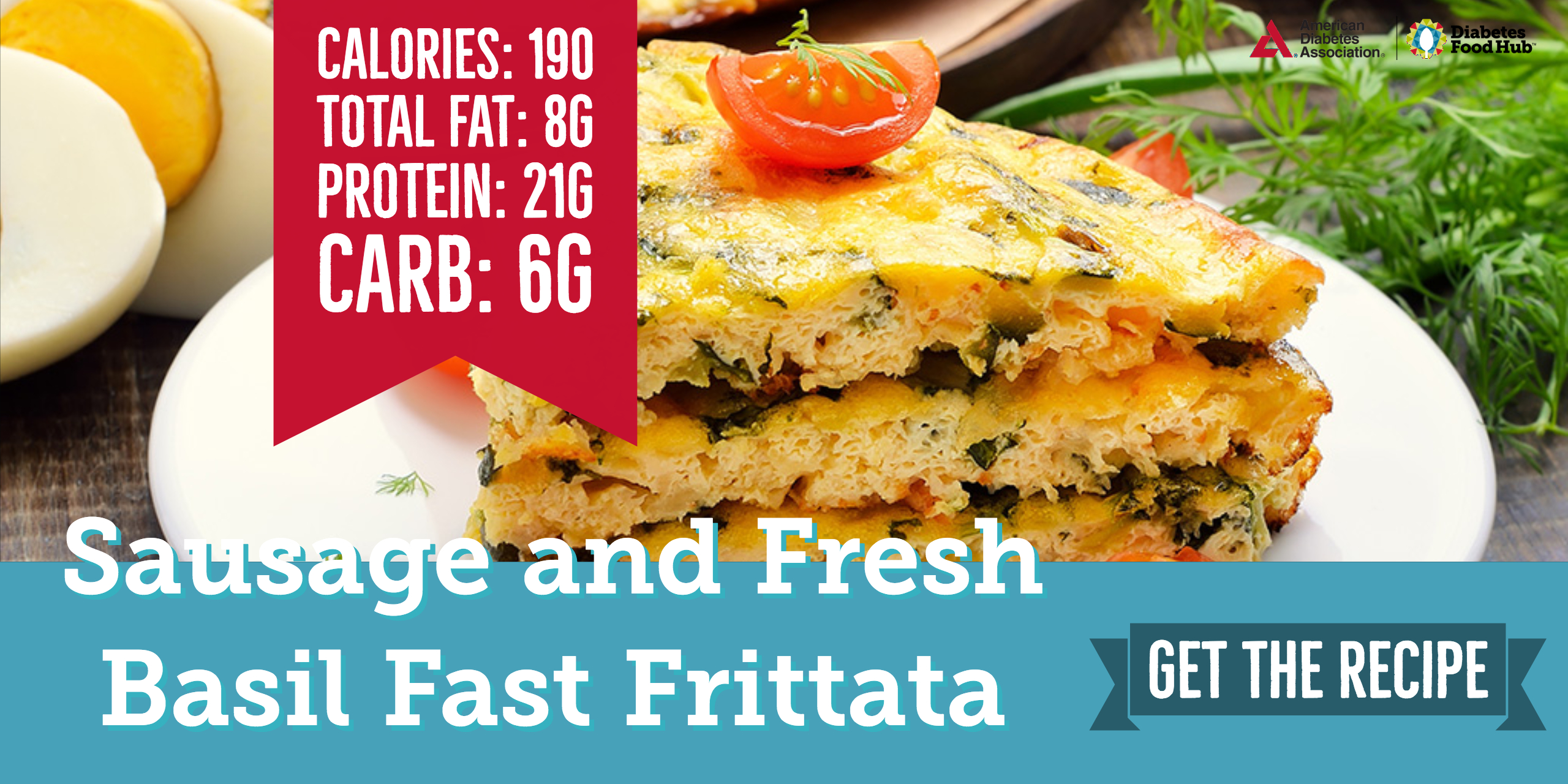low carb diabetes frittata
